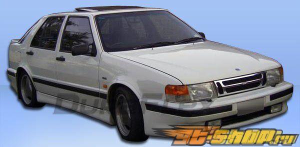 Передний бампер на Saab 9000 1988-1991 Turbo Duraflex