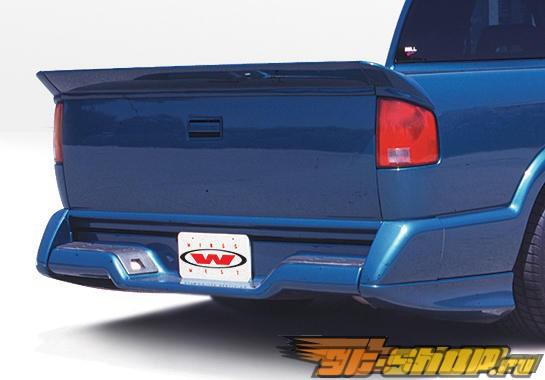 Пороги на GMC Sonoma 1994-1997 Custom Левый