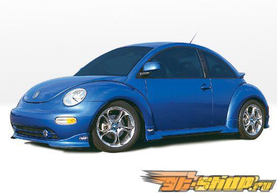 Пороги на Volkswagen Beetle 1999-2003 W-TYP Правый