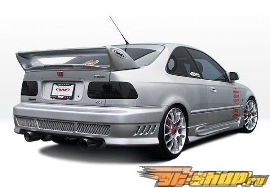 Пороги на Honda Civic 1996-2000 W-Typ Правый