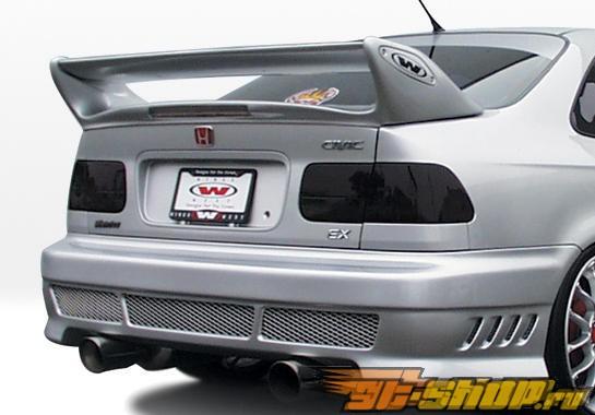 Задний бампер для Honda Civic 1996-2000 Avenger Уретан