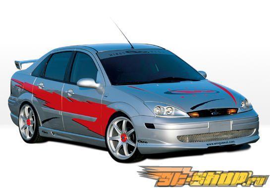 Аэродинамический Обвес на Ford Focus 2000-2004 W-Typ