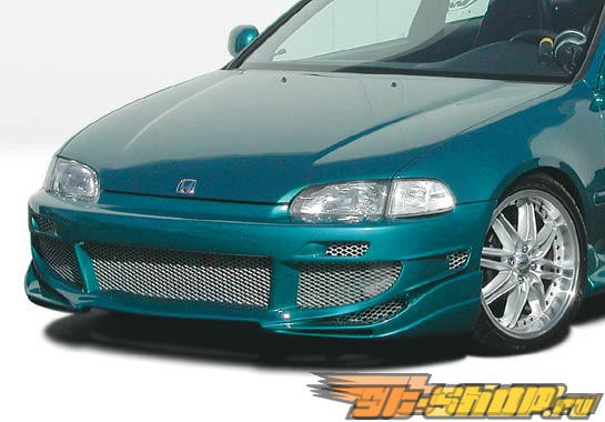 1992-1995 Honda Civic 2dr/HB Avenger Front Bumper Cover