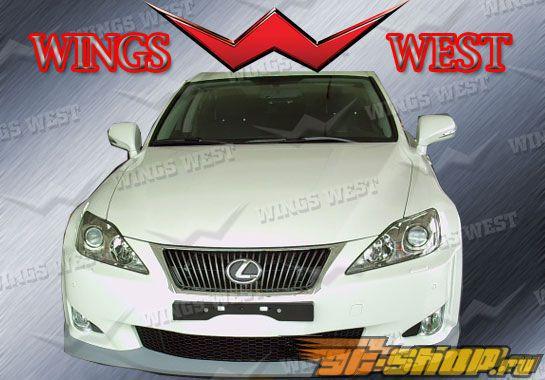 Губа на передний бампер для Lexus IS 250/350 2009-2010 VIP