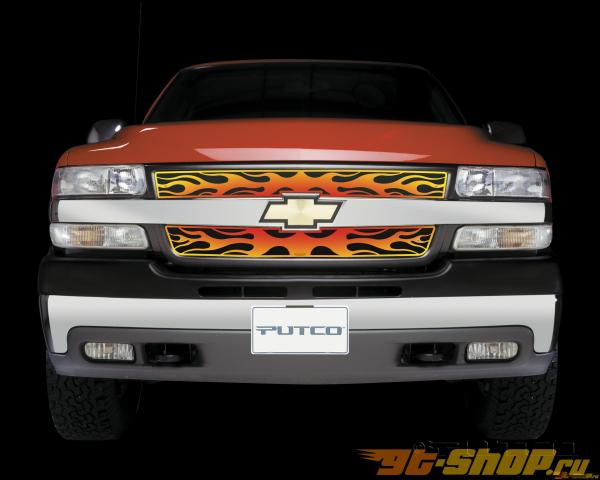Решётка радиатора на Chevrolet Suburban 00-06 Flaming 4 Color