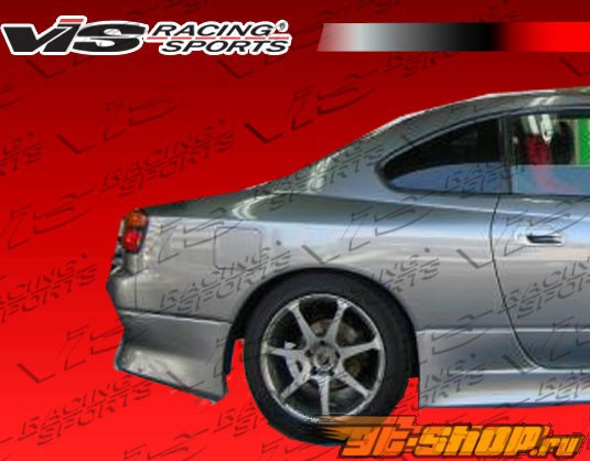 1989-1994 Nissan 240SX HB Drift Rear Flares 25mm