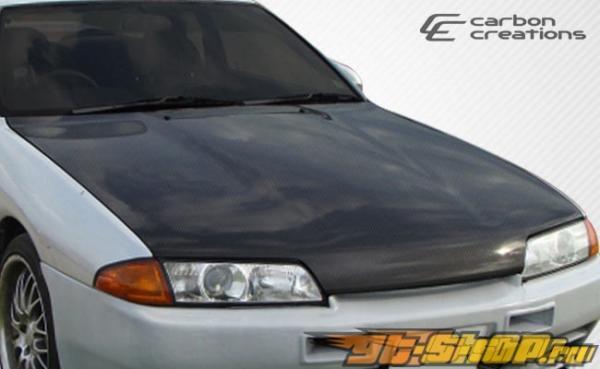Карбоновый капот для Nissan Skyline R32 89-94 стандартный Стиль
