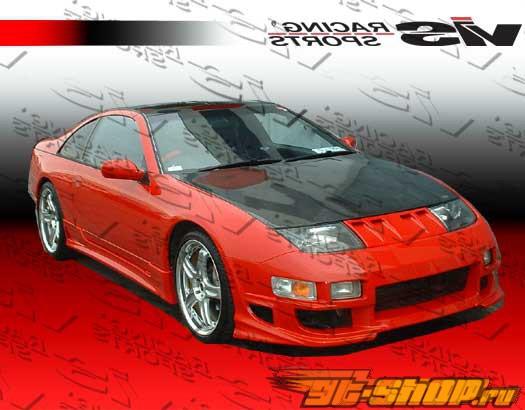 Карбоновый капот на Nissan 300ZX 1990-1996 стандартный Стиль