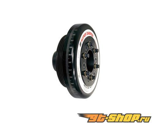 """ATI Racing 7.074"""" OD Aluiminum 5lb Race Super комплект подвески ALUM Crank Hub Acura Integra B18A1 90-01"""