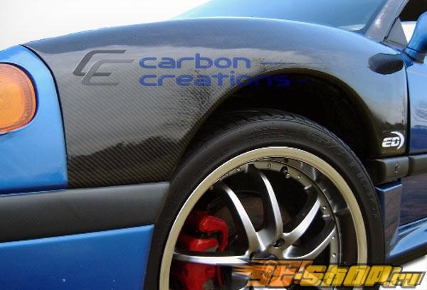 Крылья на Dodge Stealth 94-96 стандартный Карбон