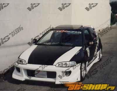 1992-1995 Honda Civic 2dr/HB Battle Z Front Bumper