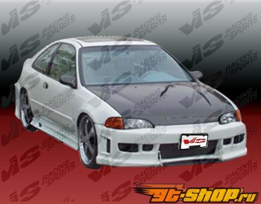 1992-1995 Honda Civic 2dr/HB Z1 Front Bumper Polyurethane