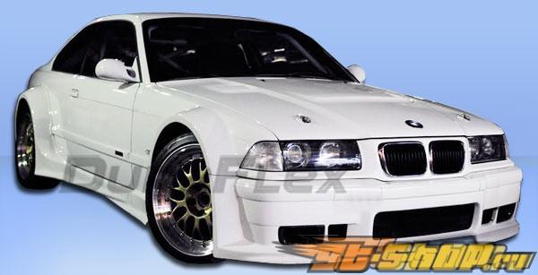 Задние крылья для BMW E36 92-98 GT500 Duraflex