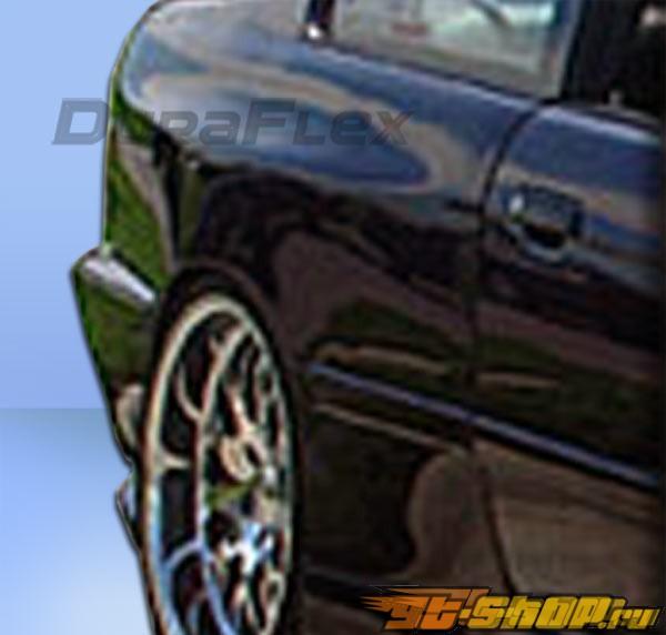 Задние накладки на крылья для BMW E36 92-98 Type Z Duraflex