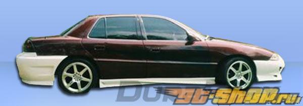 Обвес по кругу на Pontiac Grand AM 96-98 Blits Duraflex