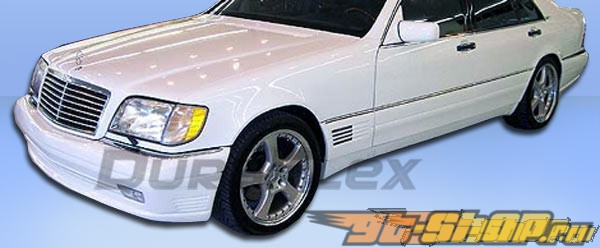 Пороги на Mercedes W140 92-99 LR-S Duraflex