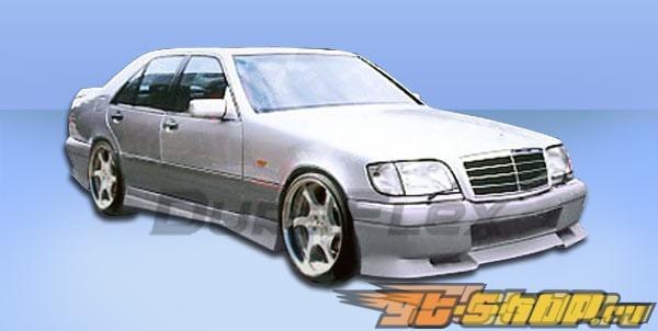 Пороги для Mercedes W140 92-99 VIP Duraflex