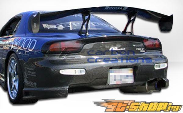 Задний бампер на Mazda RX-7 93-97 C-2 Карбон