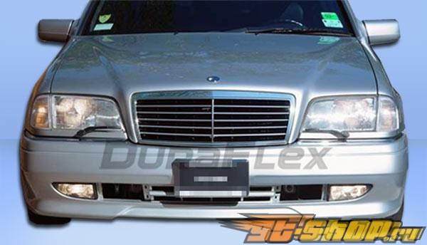 Передний бампер на Mercedes W202 94-00 AMG Duraflex