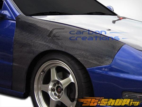 Передние крылья для Acura Integra JDM 94-01 стандартный Карбон