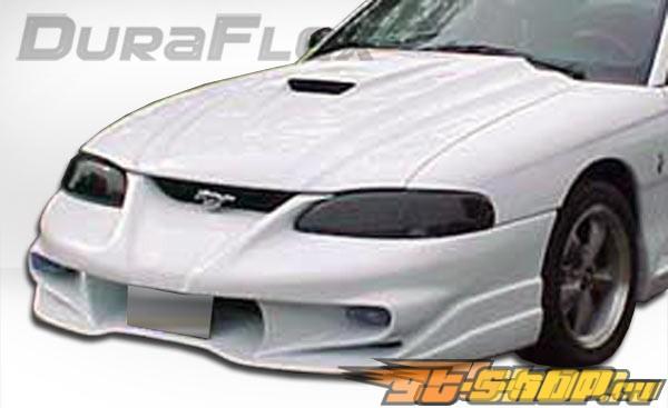 Передний бампер на Ford Mustang 94-98 Vader-2 Duraflex