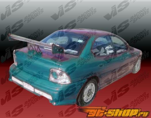 Задний бампер на Dodge Neon 1995-1999 Kombat