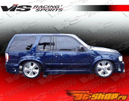 Пороги для Ford Explorer 1995-2000 Outcast