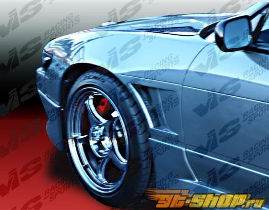 Передние крылья для Nissan 240SX 1995-1996 Drift (25mm)