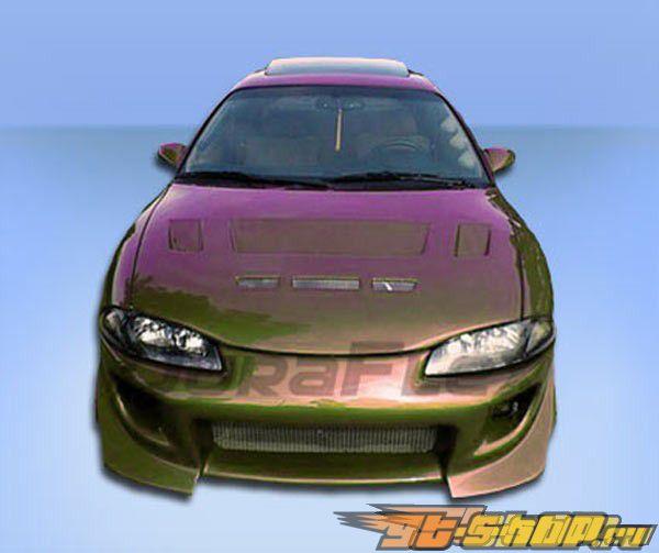 Аэродинамический Обвес на Mitsubishi Eclipse 1995-1999 Blits Уретан