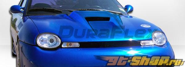 Пластиковый капот для Dodge Neon 95-99 Spyder-3 Стиль