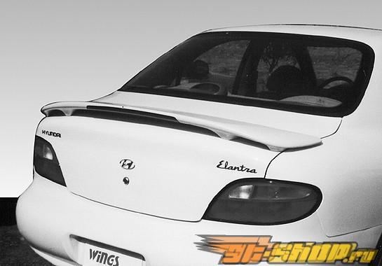 "Спойлер на Hyundai Elantra 1996-1998 Custom W/19"" Led Light"