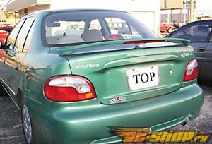Спойлер с стоп сигналом Factory Стиль на Hyundai Accent 1996-1997