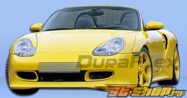 Пороги для Porsche Boxster 97-04 T-Sport Duraflex