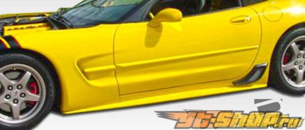 Пороги AC Edition для Chevrolet Corvette 1997-2004