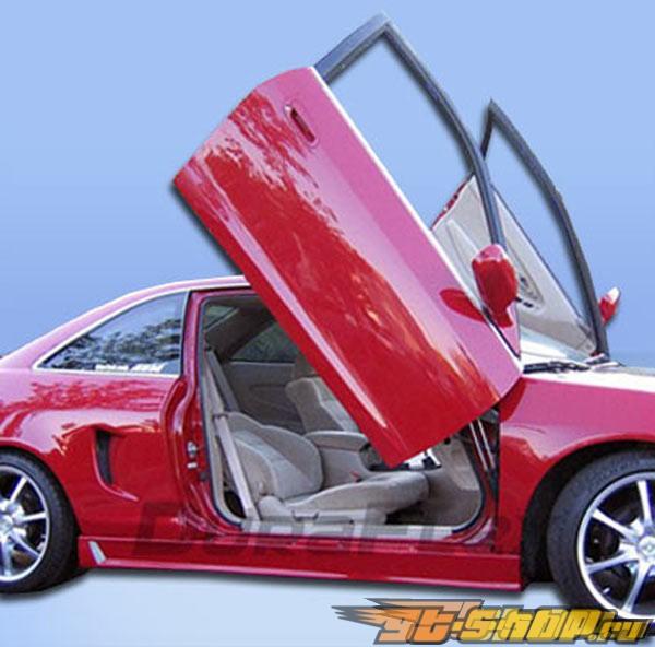Пороги на Honda Accord 98-02 Buddy Club 2 Duraflex