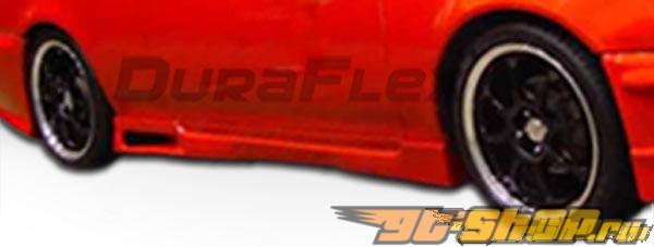 Пороги для Toyota Corolla 98-00 Spyder Duraflex