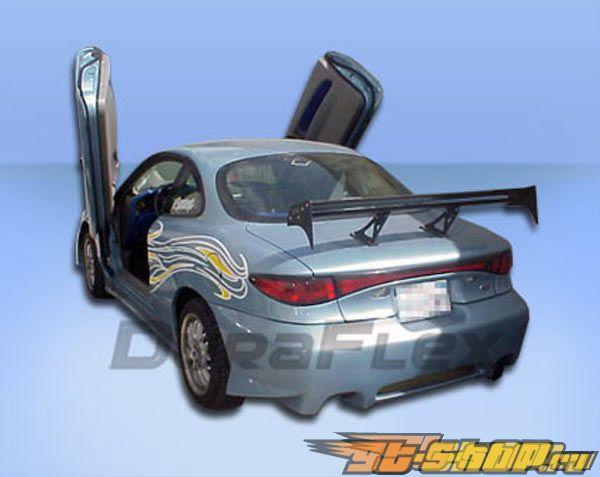 Задний бампер для Ford Escort 98-03 EVO-2 Duraflex