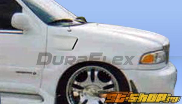 Крылья для Lincoln Navigator 98-02 Platinum Duraflex