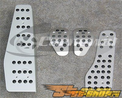 Aluminum Sport Pedal Set Porsche 996/997/987 99+