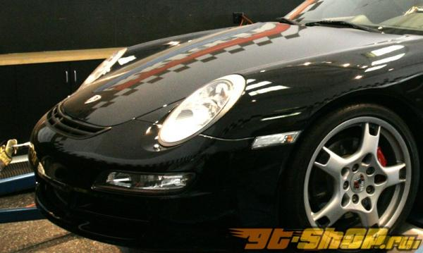 Карбоновая решётка на воздухозаборник капота Agency Power для Porsche 997 Carrera | Turbo 05+
