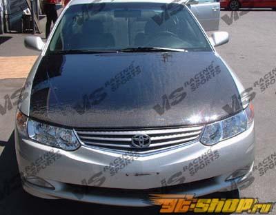 Карбоновый капот на Toyota Solara 1999-2003 стандартный Стиль