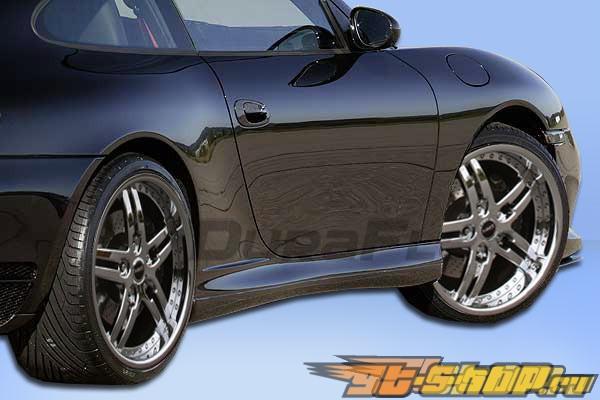 Пороги на Porsche 911 99-01 G-Sport Duraflex