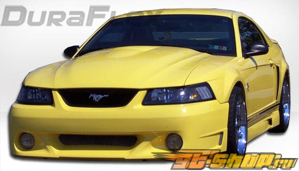 Обвес по кругу на Ford Mustang 99-04 CVX Duraflex