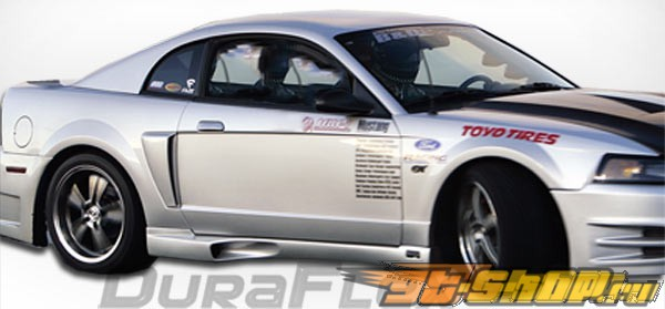 Аэродинамический Обвес на Ford Mustang 99-04 KR-S Duraflex