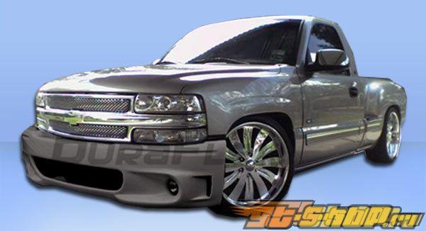 Передний бампер на Chevrolet Suburban 00-06 Lightning SE Duraflex