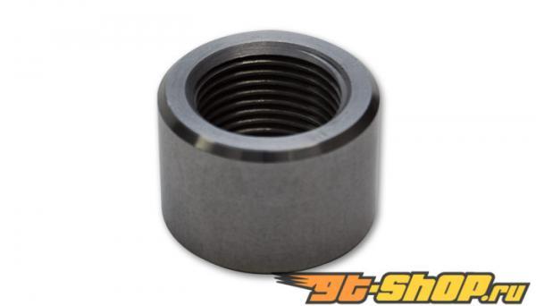 "Female 1/2"" -14NPT Aluminum Weld Bung (1-1/4"" OD)"