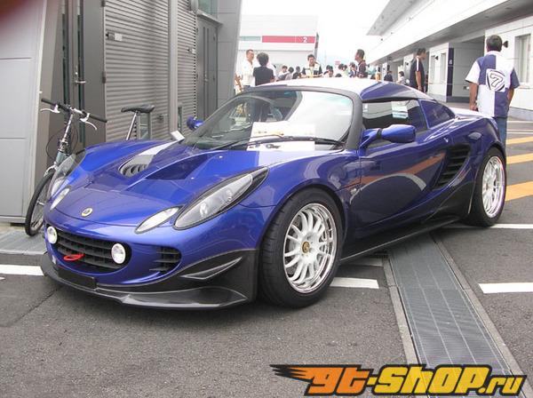 ARBiC передний  Half 01 из сухого карбона Lotus Elise 00-13