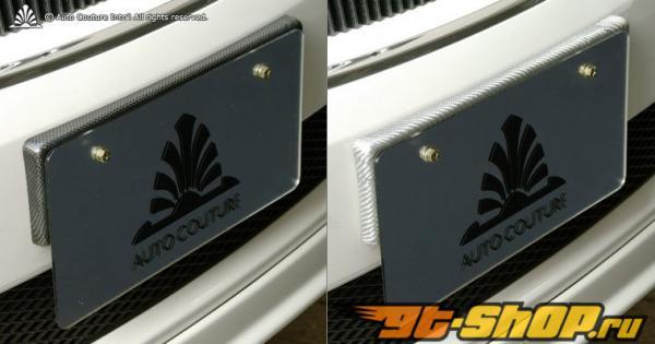 Auto Couture License Plate Base 01 (CFRP) Texalium - Карбон Lexus IS-F 07-13