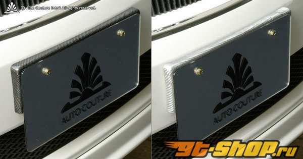 Auto Couture license plate stay 01 Карбон - Карбон Lexus GS350 07-12