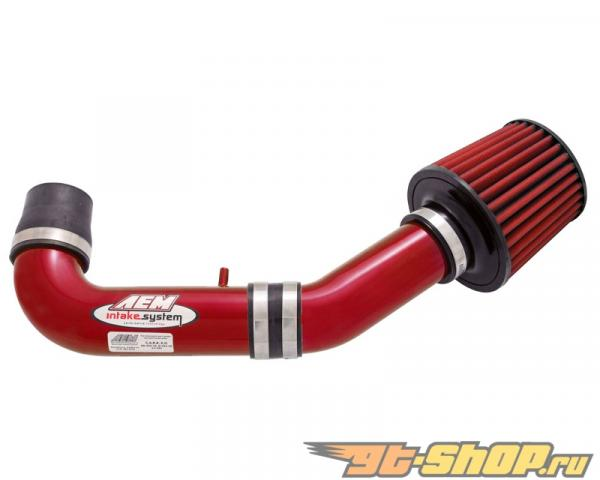 AEM Красный Short Ram Intake System Mazda Miata 1.8L 00-03